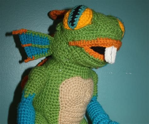 Murky The Murloc Crochet Doll All