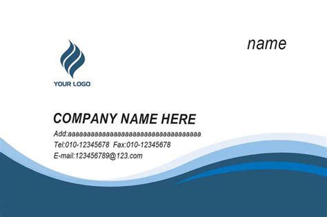 visiting card 8 visiting card templates excel pdf formats