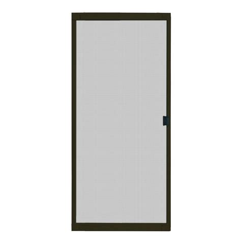 patio door screens home depot screen door brisa white sliding retractable screen door