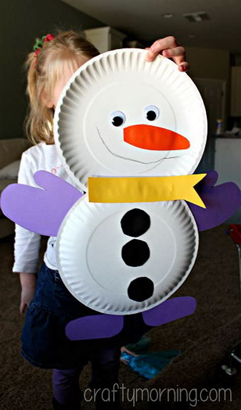 snowman paper crafts for 25 cool snowman crafts for hative