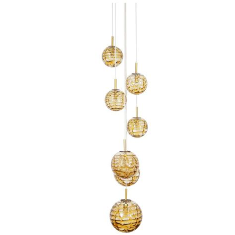 glass globes for chandeliers vintage glass globes chandelier by doria for sale at