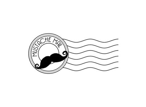 postal cancellation rubber st mustache mail postal cancellation rubber st moustache