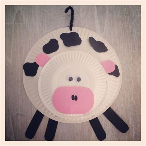 paper plate cow craft all about the farm ideas in 3 s seattle travel