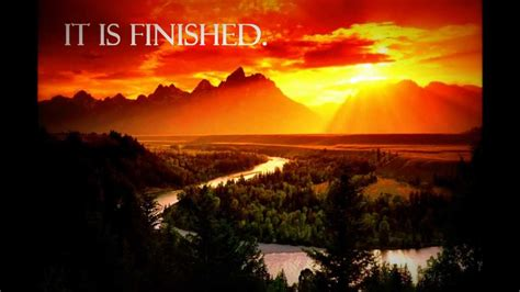 is finished 12 1 offering it is finished lyrics