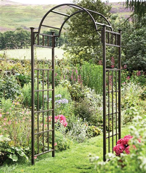 Garden Arbor Archway Impressive Metal Garden Trellises 6 Metal Garden Arch