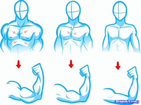 how to draw bodies how to draw anime bodies draw anime figures step 6
