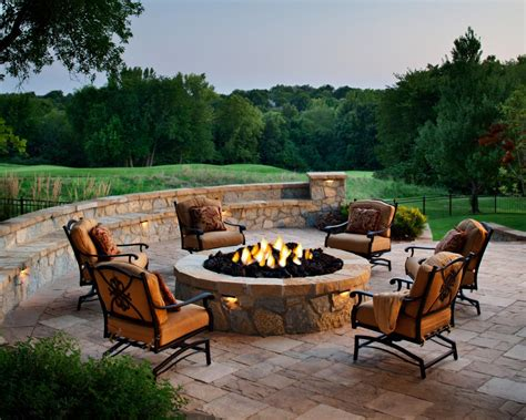 patio furniture designs designing a patio around a pit diy