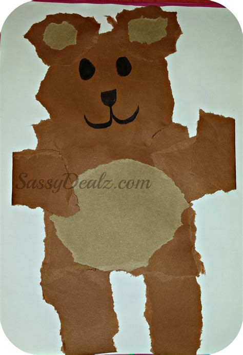 teddy crafts for teddy crafts for preschoolers images