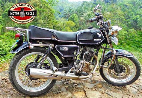 Modifikasi Motor Model Sepeda by Style Cb Modifikasi Motor Japstyle Terbaru