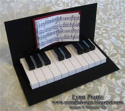 cool pop up cards to make st n design piano cards