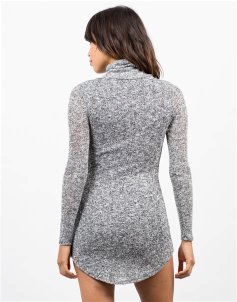 knitted sweater dress marled knit sweater dress grey dress day dress 2020ave