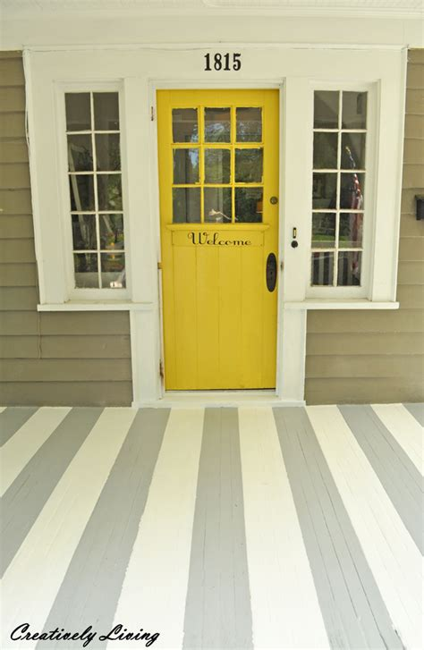 paint colors for porch paint your porch with stripes creatively living