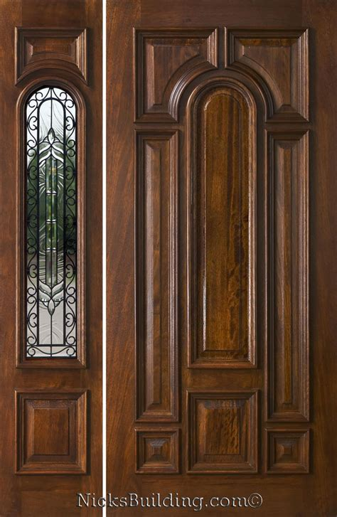 front entry doors with one sidelight exterior entry doors with 1 sidelight solid mahogany