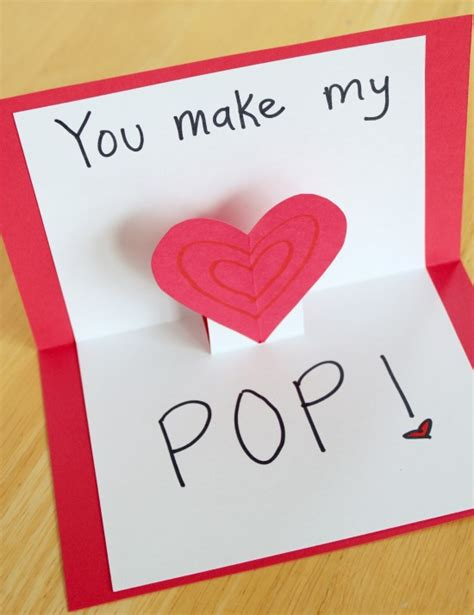 how to make a valentines card cards that make your pop make and takes