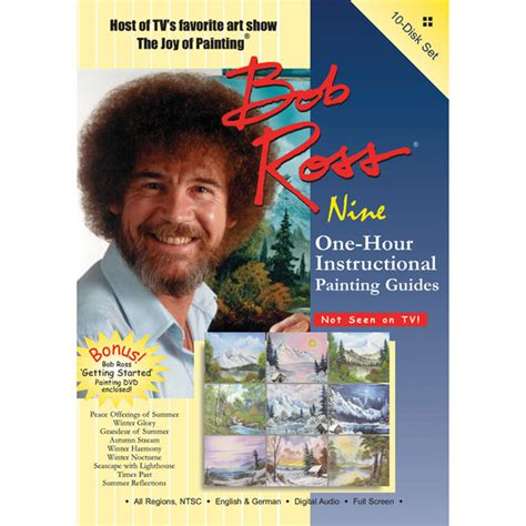 bob ross painting dvd set bob ross of painting series ten one hour