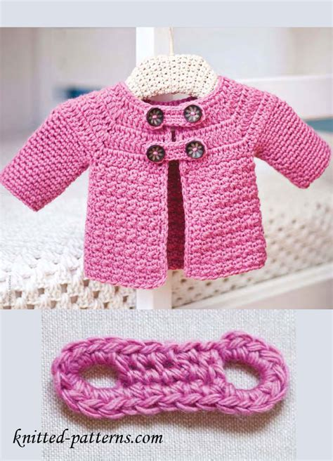 knit or crochet free baby patterns to knit or crochet crochet and knit