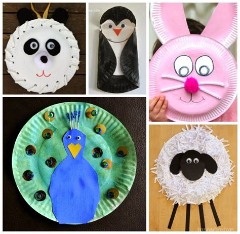 paper plate animal crafts learn with play at home 20 fabulous paper plate animal crafts