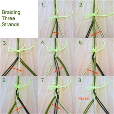 how to braid hair with string and beginner s pictorial braided sling by dan