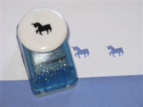craft paper punch magical unicorn craft paper punch scrapbooking by