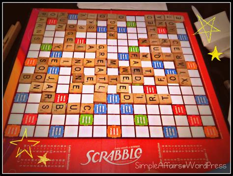 can t play scrabble on scrabble simple affairs