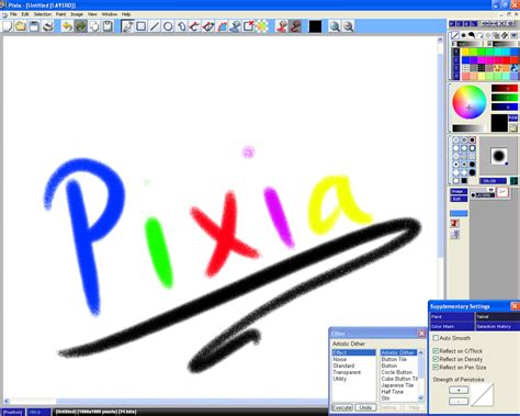 drawing software free pixia and phierha free drawing software