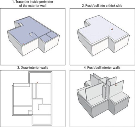how to create floor plan in sketchup the best 28 images of how to create a floor plan in