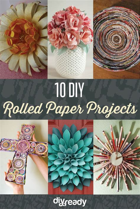 rolled paper crafts 10 diy rolled paper crafts from recycled magazines