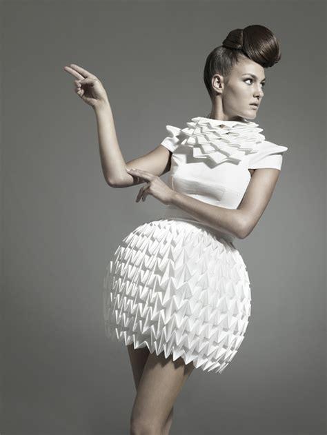 origami in fashion unique origami fashion 2016