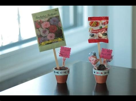 mini craft projects s craft for mini flower pot with treats