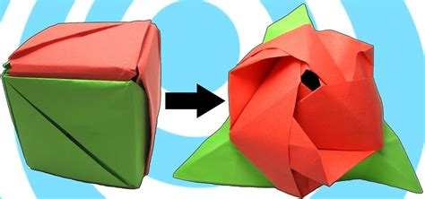 how to make cool origami toys how to make an origami magic cube 171 origami