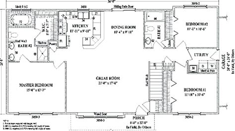 open ranch style floor plans ranch style house plans with open floor plan thepalmahome