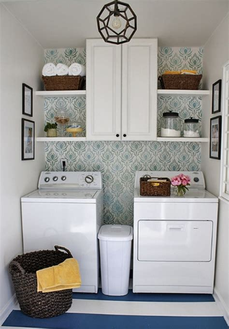 20 small laundry room storage solutions