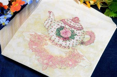 printed tissue paper for decoupage new 60pcs lot 33x33cm pink printed tissue paper