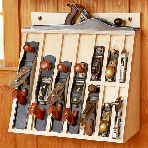 woodworking tool storage plans plane rack woodworking plan keep your plane