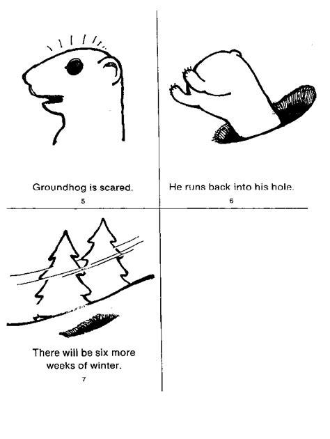 groundhog day kindergarten worksheets free groundhog color by number coloring pages