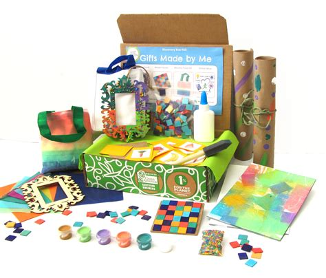 monthly crafts for subscriptions for green kid crafts