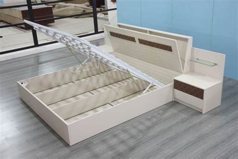 Kitchen Collection Com adjustable bed with storage bins railing stairs and