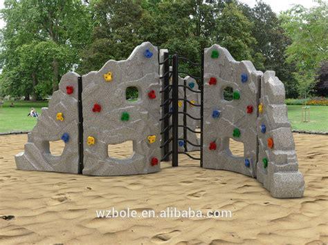 backyard climbing structures new product playground equipment rock climbing wall