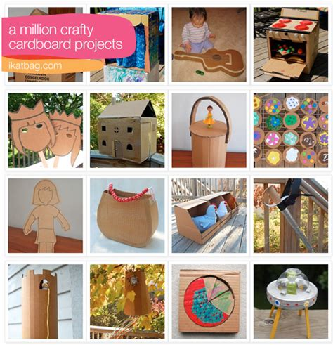 cardboard craft projects 40 ways to repurpose a cardboard box money saving 174
