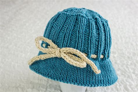 knit hat with brim pattern free knitting pattern baby summer hat brimmed hat knitting