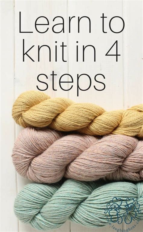 learn to knit learn how to knit