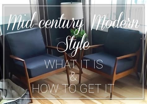 mid century modern mid century modern style what it is and how to get it