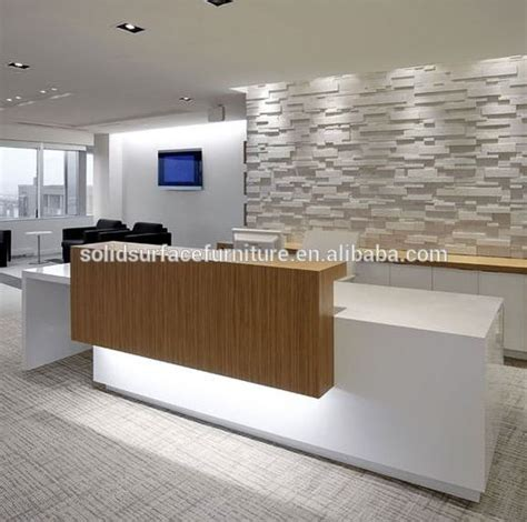 front desk designs for office best 25 reception counter design ideas on