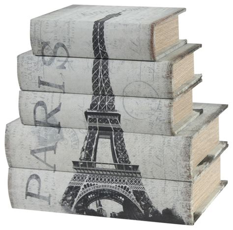 wooden book boxes wooden book boxes 5 set contemporary