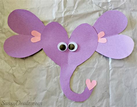 elephant paper craft valentines day elephant craft for toilet paper roll