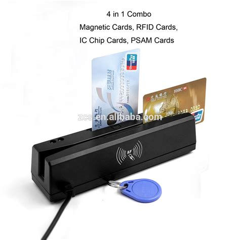 how to make a magnetic card reader zcs160 usb 4 in 1 emv certificated mulit functional card