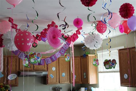 decoration for birthday at home the house decorations for the babies birthday