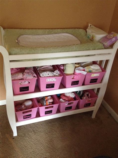 changing table storage ideas best 20 changing table storage ideas on