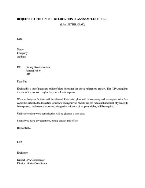 relocation cover letter examples for resume relocation