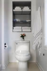 bathroom storage shelves toilet recessed shelves toilet transitional bathroom